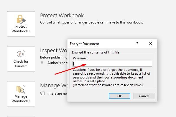 Cara Membuat Password File Microsoft Excel 2016
