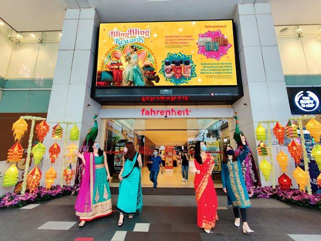Colorful Spray Paint Kolam, Fahrenheit88 Kuala Lumpur, Deepavali Decor, Deepavali in Malaysia, Deepavali, Malaysia Shopping Mall, KL Malls, Lifestyle