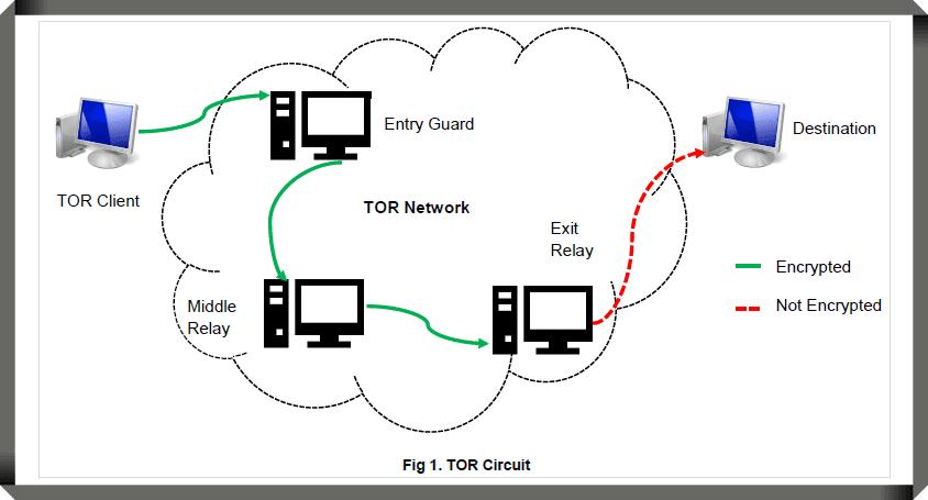 كيف يعمل متصفح تور TOR Browser