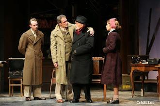 Théâtre : A tort et à raison de Ronald Harwood - Avec Michel Bouquet, Francis Lombrail - Théâtre Hébertot - Paris 17