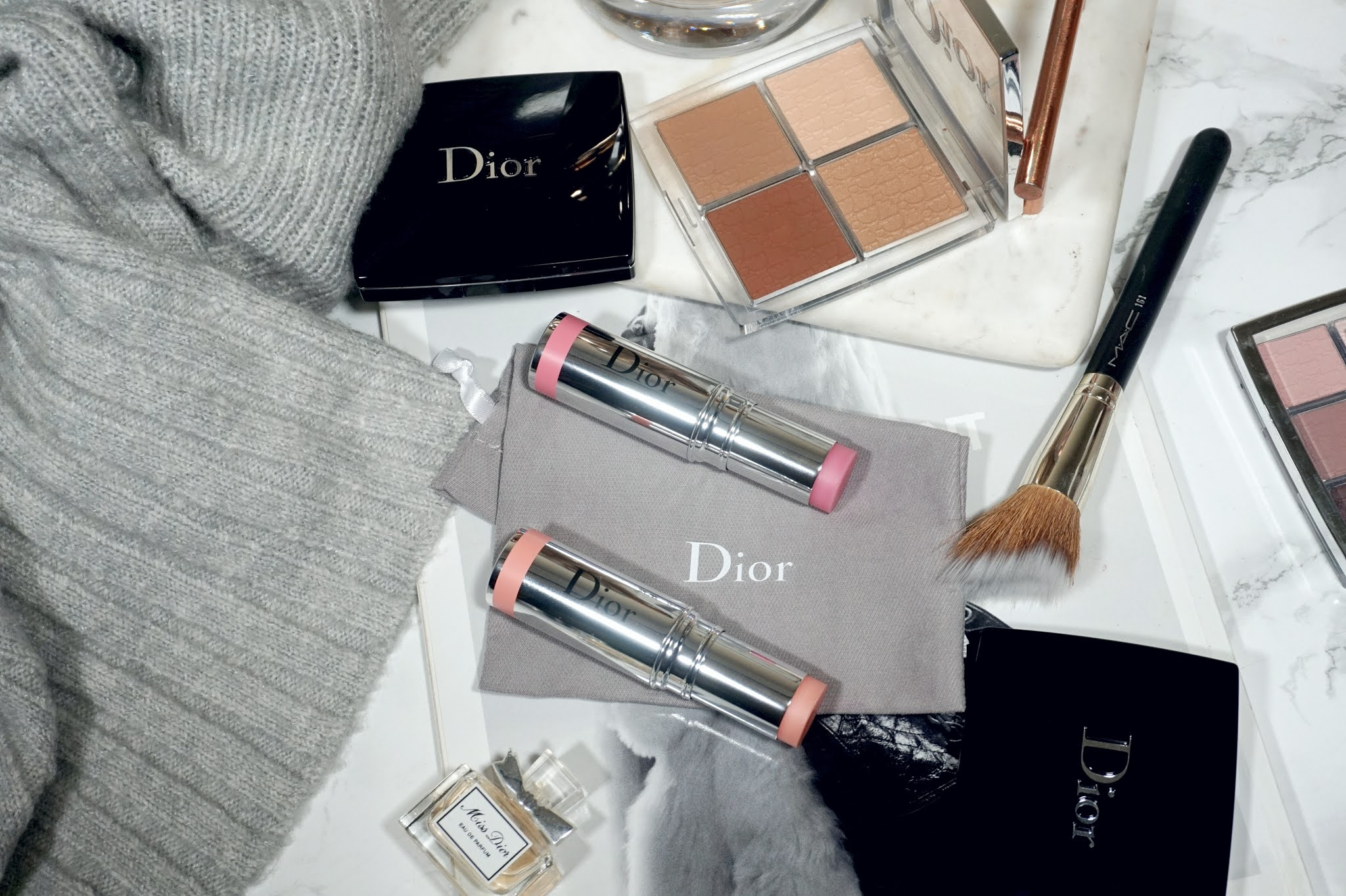 Dior DiorSkin Pure Glow Collection Stick Glow Blush Review and Swatches