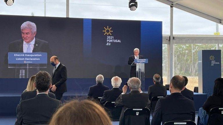 Foi inaugurado em Portugal o cabo submarino de fibra óptica Brasil-Europa