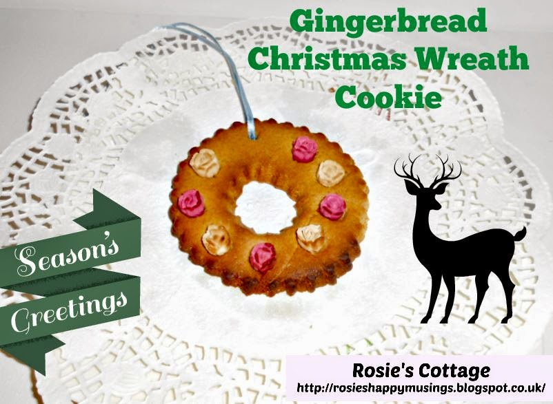easy gingerbread cookie christmas wreath recipe