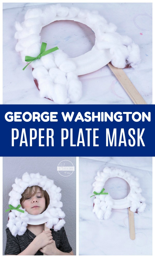 Kindergarten Worksheets And Games George Washington Birthday Craft