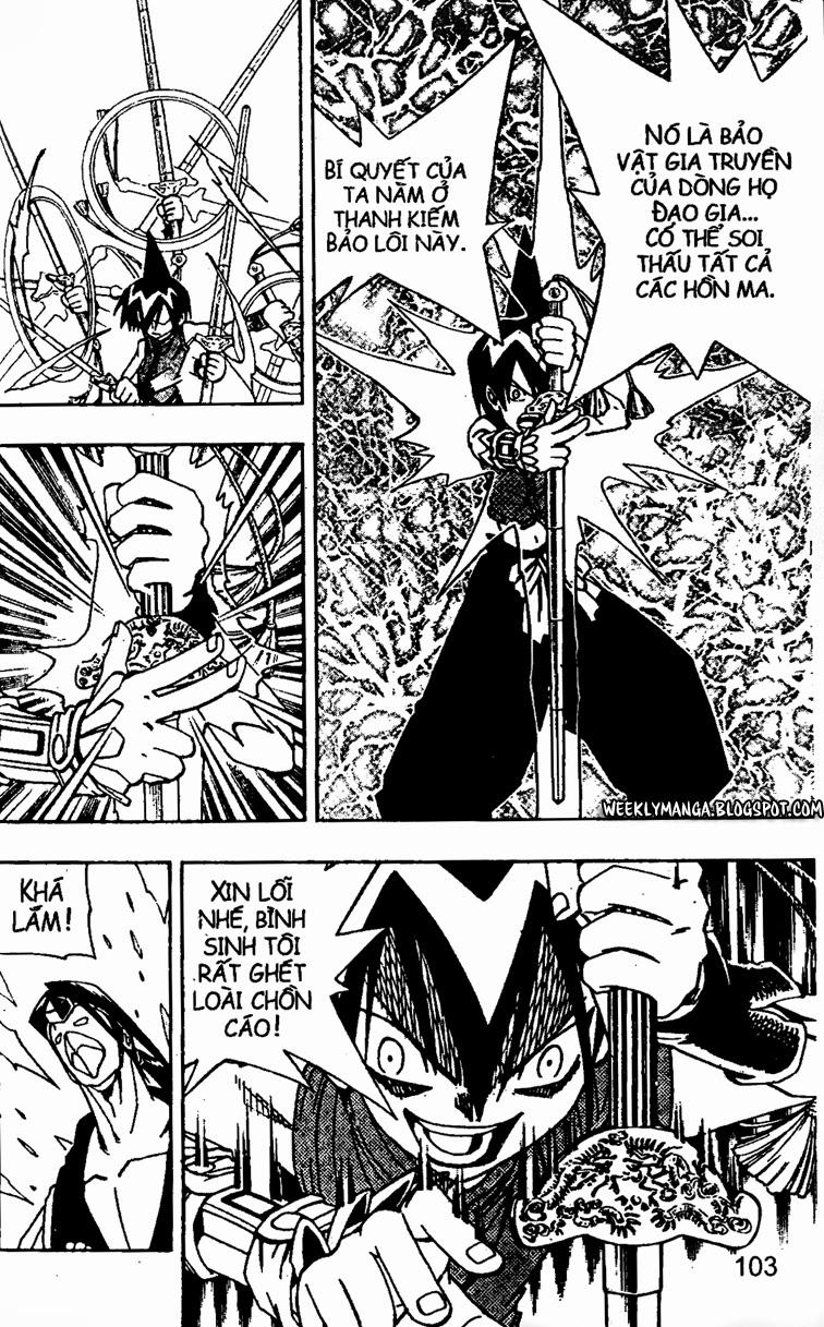 Shaman King [Vua pháp thuật] chap 146 trang 10