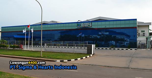 Lowongan Kerja PT. Sigma & Hearts Indonesia MM2100
