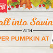Final Days to Save on Paper Pumpkin