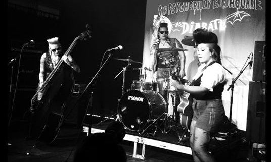 As Diabatz no 6º Psychobilly Earthquake em 2015