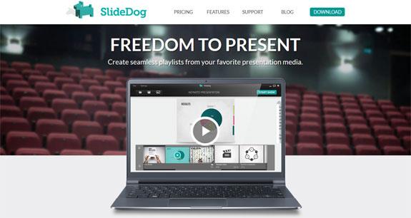 Salah satu alternatif software atau aplikasi untuk membuat presentasi adalah PowerPoint. Selain itu, anda dapat menggunakan SlideDog.