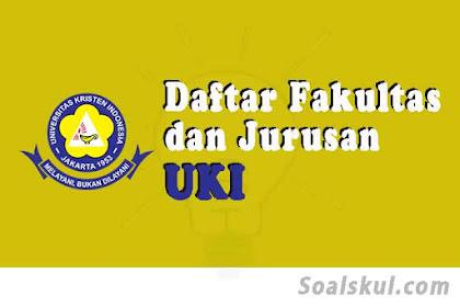 Daftar Fakultas Dan Jurusan UKI Jakarta 2020 (TERBARU)