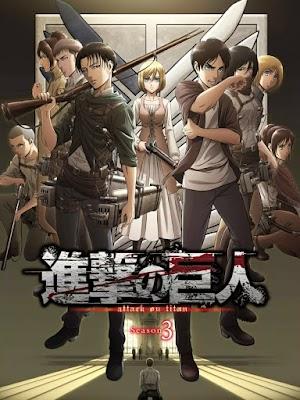 Shingeki no Kyojin Season 3 (12/24) | Sin acortadores | Sub español | Mega