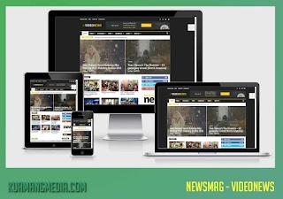 Free Download News Mag Magazine WordPress Theme