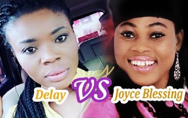 Deloris Frimpong Manso aka Delay (Left) and Joyce Blessing (Right)