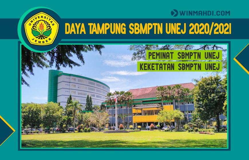 DAYA TAMPUNG SBMPTN UNEJ 2020-2021