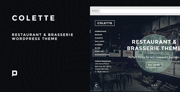 Responsive Restaurant WP Theme