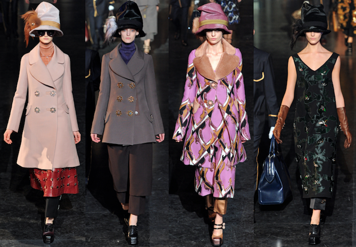 Louis Vuitton by Marc Jacobs FW 2012