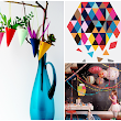 The Petite Soiree: Trend Thursday: Triangle Party Inspiration