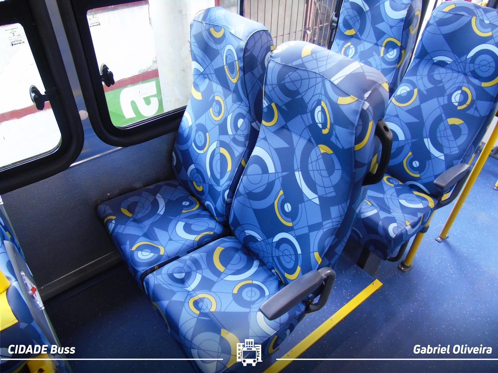 Poltronas de Ônibus da CAIO