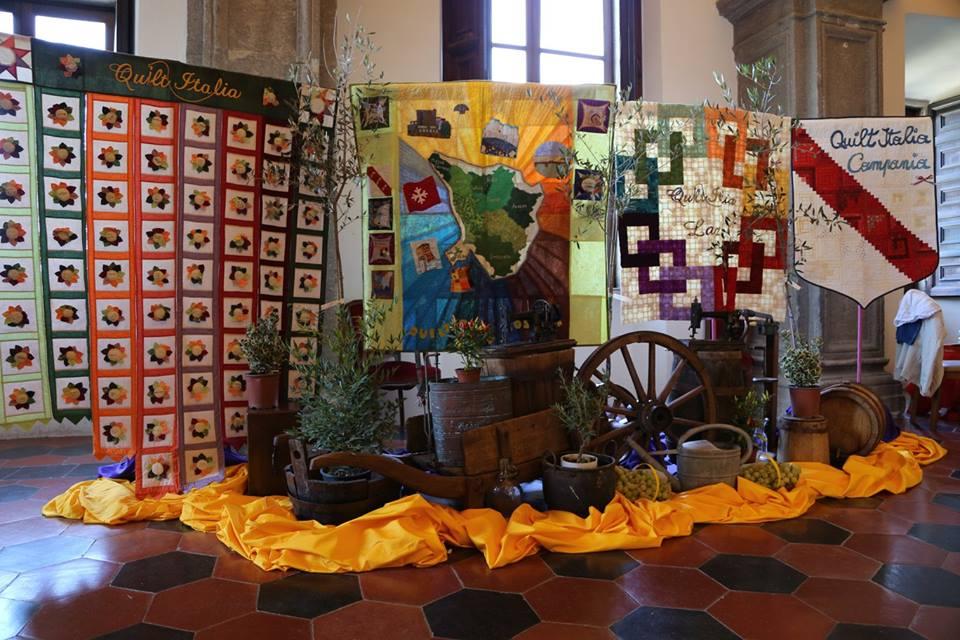 Quilt Italia Lazio.Quilt Italia Campania Patchwork Made In Lazio Bomarzo 2015