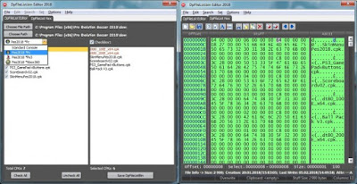 PES 2018 DpFileList Editor v.10 + Hex Viewer by CgM2k7