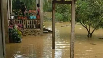 Solok Selatan Dilanda Banjir, Ada Ratusan Warga Terdampak