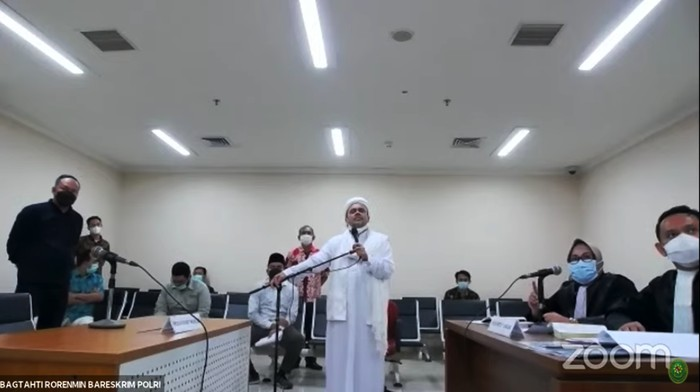 HRS Bandingkan Sidang Offline Para Koruptor, Hakim Malah Bilang Begini