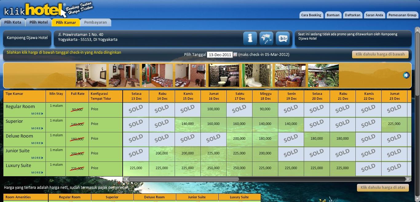 Info Harga Hotel Murah Di Jogja