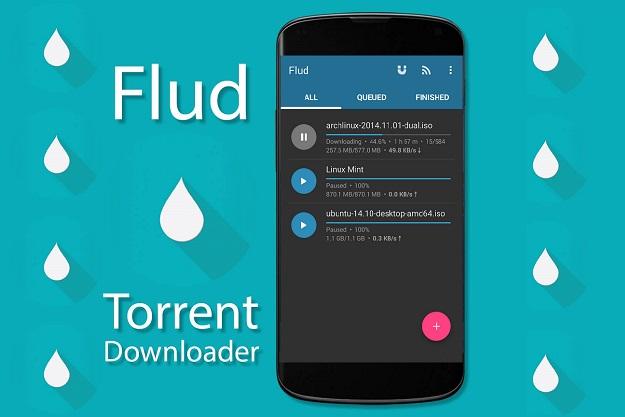 Flud - Η απόλυτη δωρεάν εφαρμογή για κατέβασμα torrent σε smartphones