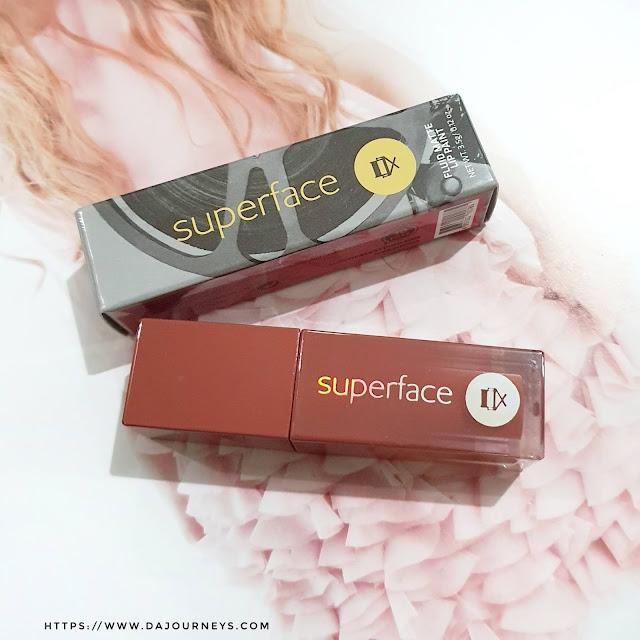 Review Superface Fluid Matte Lip Paint