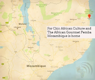 Chic African Culture and The African Gourmet Morrua Mozambique is home