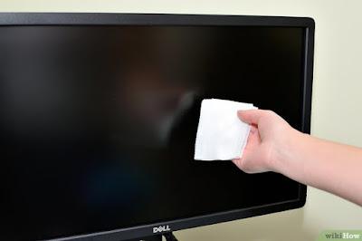 Cara Membersihkan Layar LCD