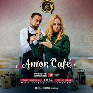 OBRA ¿Amor, Café?   Auditorio Sonia Fajardo Forero