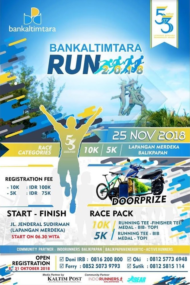 Bankaltimtara Run • 2018