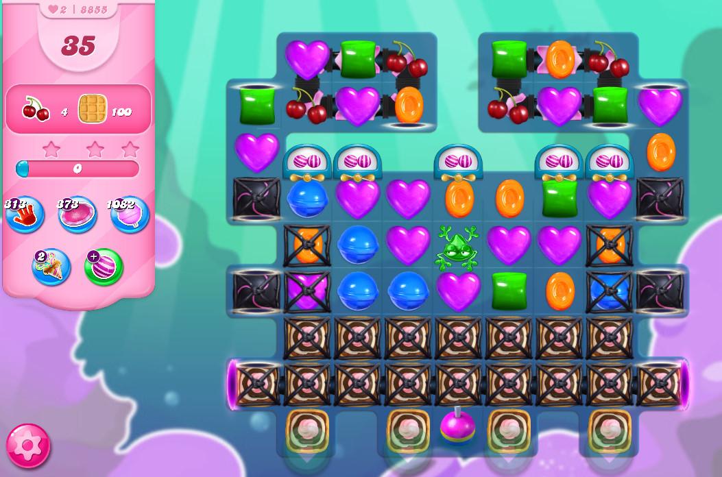 Candy Crush Saga level 8855
