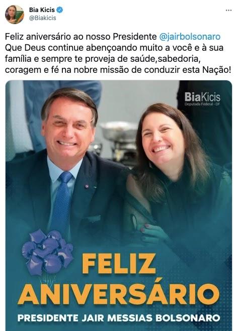 Screenshot 2021 03 21T092744.359 - Bolsonaro completa 66 anos e é homenageado por multidão de patriotas que canta parabéns em frente ao planalto; VEJA VÍDEO