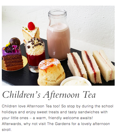20+ Places you can book Children's Afternoon Tea in North East England - wynyard hall