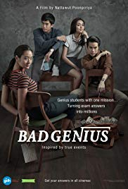 Bad Genius | Full China Movie (2017) Web-Rip, Lynn, a genius high school student who makes money by cheating tests, receives a new task that leads her to set foot on Sydney, Australia. In order to complete the millions-Baht task, Lynn and her classmates have to finish the international STIC(SAT) exam and deliver the answers back to her friends in Thailand before the exam takes place once again in her home country