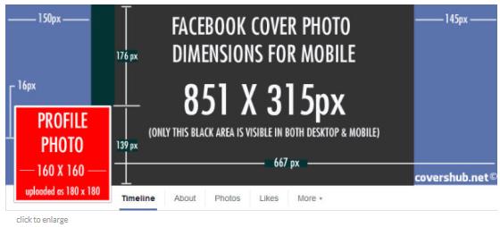 Facebook Banner Size Template