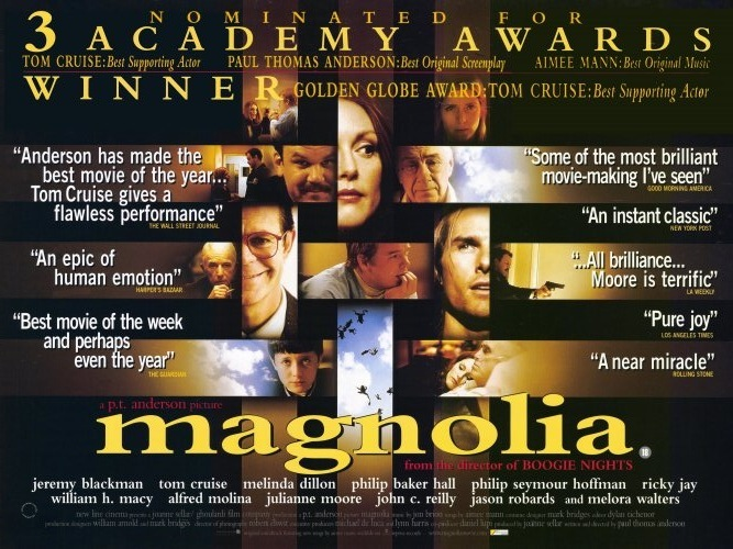 magnolia imdb top reviewthis the blog welcome back to my imdb top 250 reviews i have been away for a while i came back a review for the avengers check it out and now i m back on