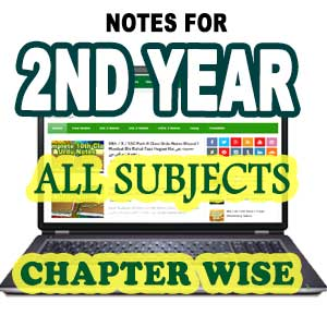 Free Download Notes For Classes 9th, 10th, 1st Year, 2nd