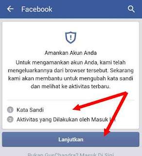notifikasi fb