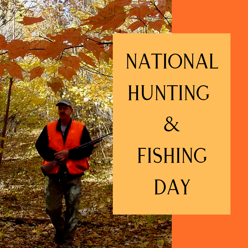 National Hunting and Fishing Day Wishes Pics