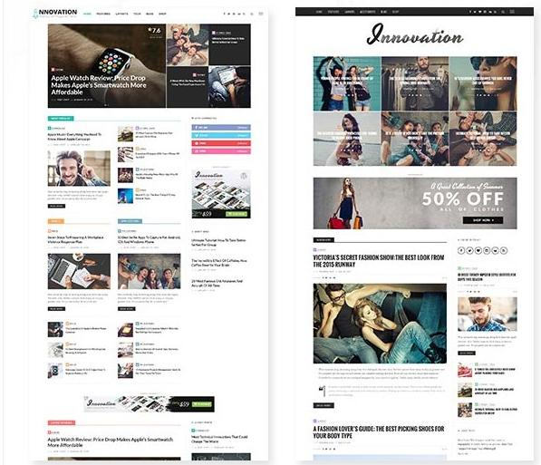 Innovation Theme WordPress Magazine
