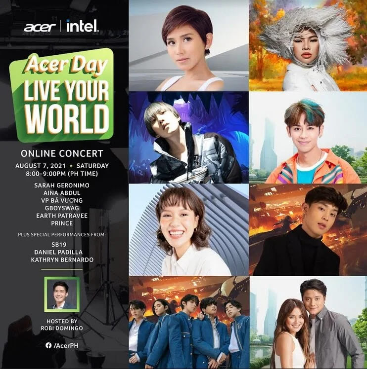 ICYMI: What went down on the first ever Acer Day 2021 online concert