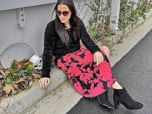 Floral skirt - I am ready for spring