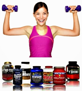 Batido de proteínas menor de edad mujer