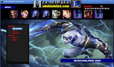 Download Mod Skin Lol Pro