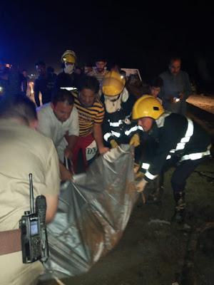 حدث ليلة امس.. الدفاع المدني تنقذ سائق و تنتشل جثة امرأة وطفلتها وتخمد حريق عجلة شمال واسط