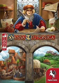 Opiniones de Hansa Teutonica big box the board game