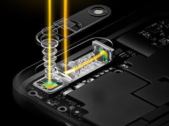 【攝影器材】Apple 將導入「潛望鏡」技術,讓 iPhone 鏡頭擁有驚人的望遠效果 - 利用菱鏡折射的原理,讓長鏡頭有機會橫置在日益輕薄的手機裡